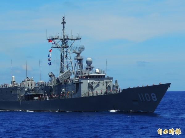 海軍唐姓艦長涉及婚外情,被海軍嚴懲拔官。圖為海軍成功級軍艦。(資料照)