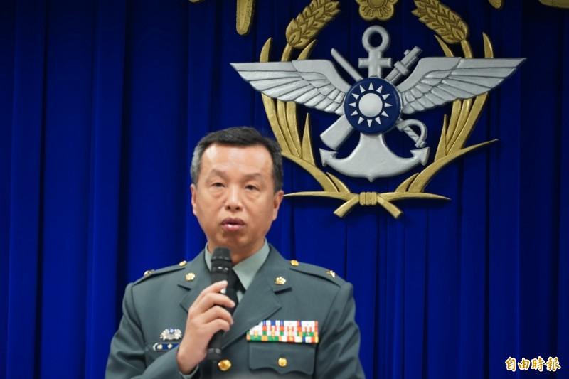 美國國防部發表2019年中國軍力報告,國防部發言人陳中吉強調,國軍會持續觀察,也請國人相信國軍絕對有自我保衛的決心。(資料照)