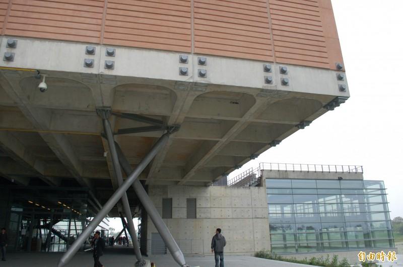 國立台灣歷史博物館是台南市安南區地標。(記者洪瑞琴攝)