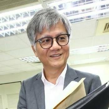 去年參選台北市長的吳蕚洋。(取自吳蕚洋臉書)
