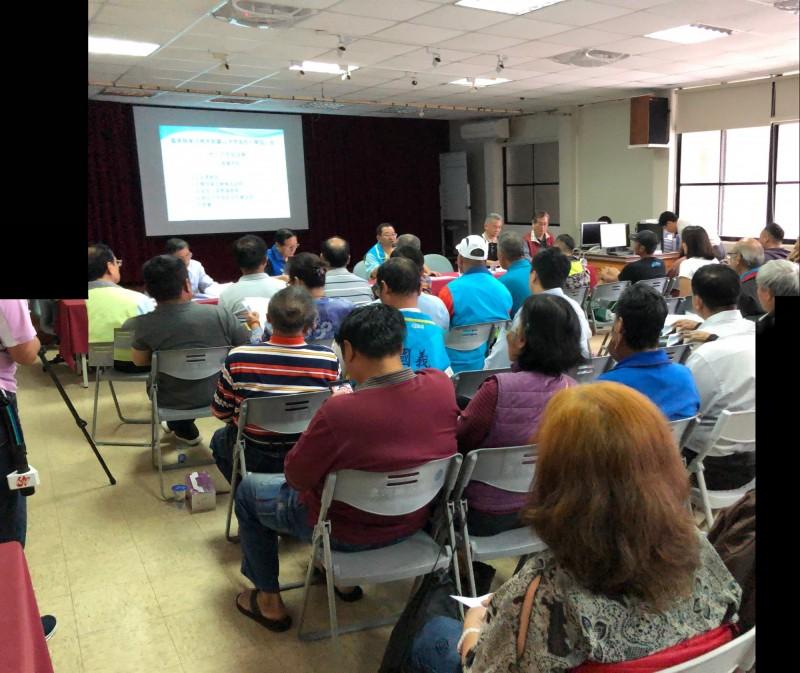 ATT都蘭開發案今天舉辦地方交流座談會。(地球公民基金會提供)