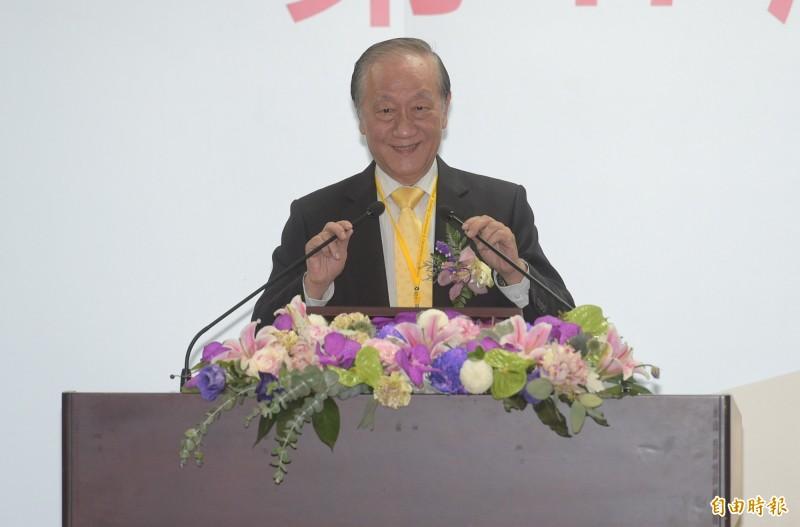 新黨主席郁慕明。(資料照)