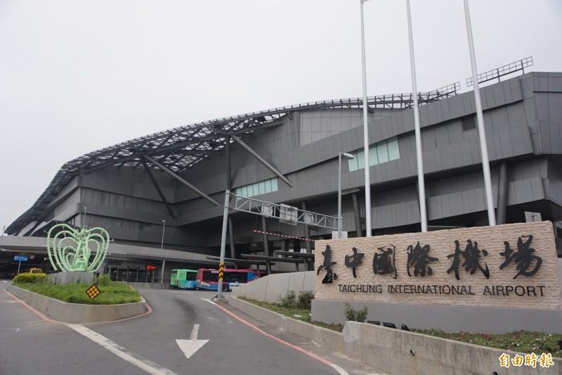 市府暫緩台中國際機場前的清泉崗門戶計畫惹議。(記者歐素美攝)