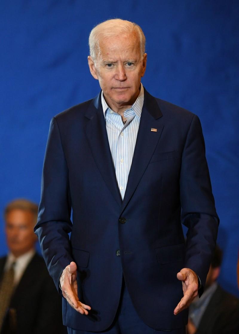 美國前副總統拜登日前宣布將競爭2020總統黨內初選,成為民主黨呼聲最高的人選之一。(法新社)