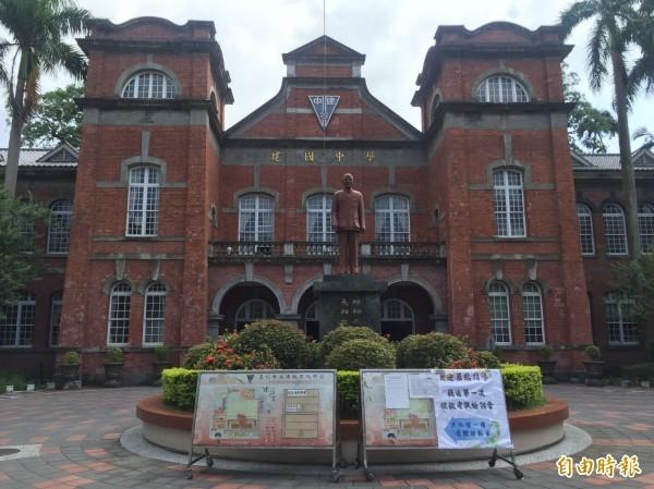 台北建國中學。(資料照)