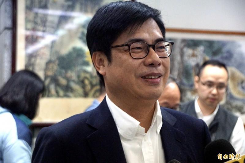 謝震武高喊「陳其邁利用這個機會得分得大啦,韓市長」!(資料照)