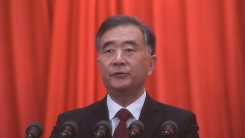 中國全國政協主席汪洋。(資料照,中央社)