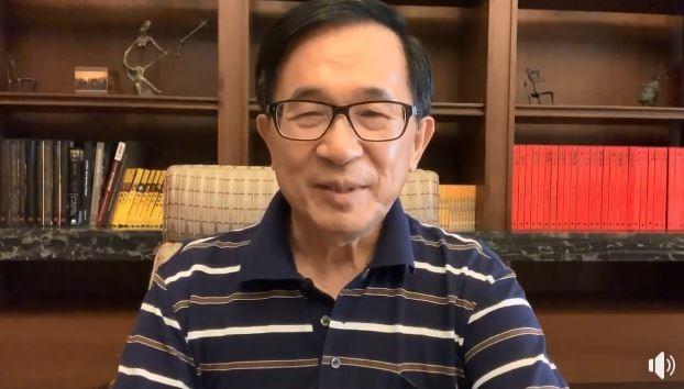 前總統陳水扁分析丁守中敗訴原因。(圖翻攝自臉書)