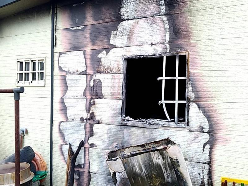 南澳鄉下午驚傳住宅火警。(記者林敬倫翻攝)