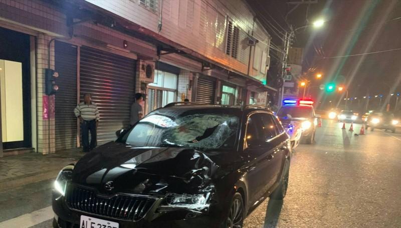 花蓮縣吉安鄉今晚發生一起死亡車禍,就讀小學五年級的楊姓男童遭車撞死。(記者王錦義翻攝)