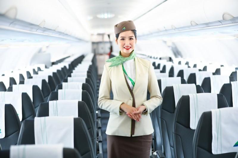 今年開航的越南籍越竹航空宣布,6月29日起將直飛台北─越南下龍灣定期航班,每5天1班。(越竹航空提供)