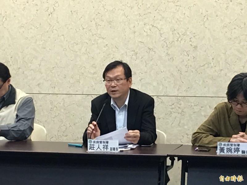衛福部疾管署副署長莊人祥表示,目前評估鼠傳人E肝傳入台灣風險仍低。(資料照)