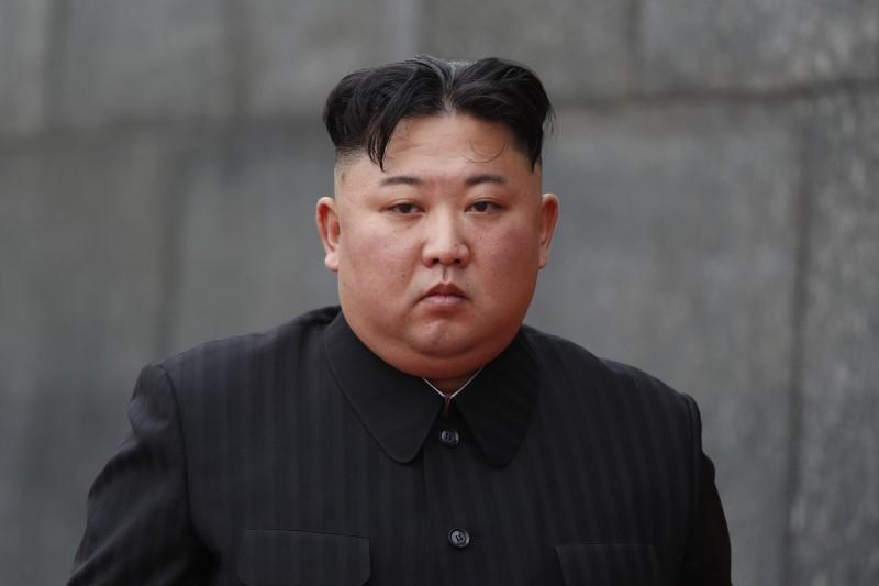 北韓領導人金正恩。(彭博)