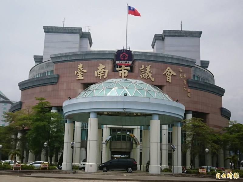台北市議員水準比較高,南市議員不認同。(記者洪瑞琴攝)