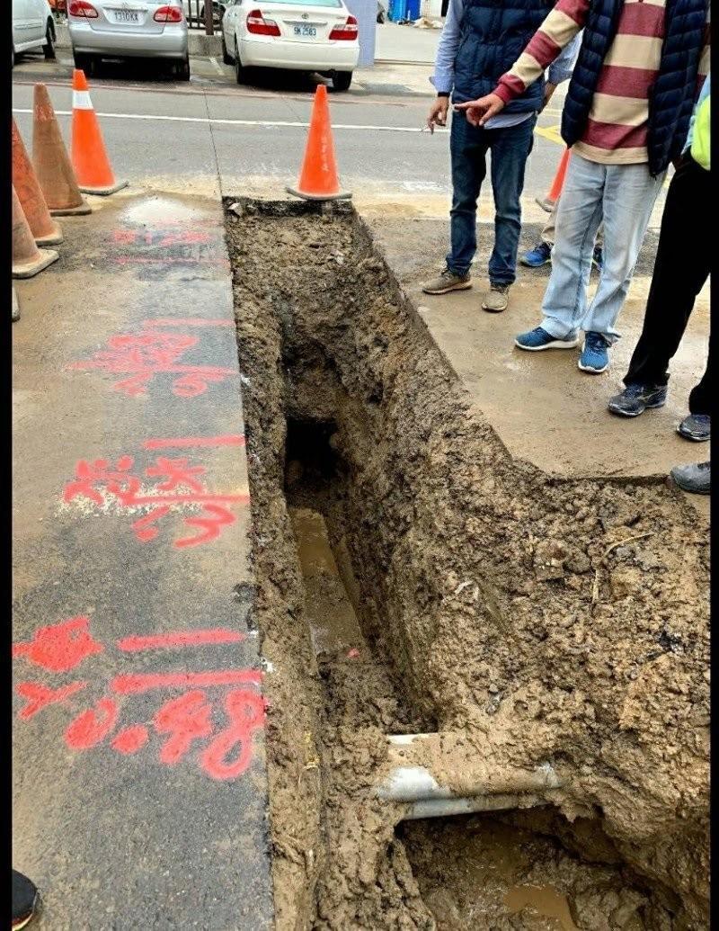 等到了!中油管線遷移將發包 頭份雨水下水道可望進場施工