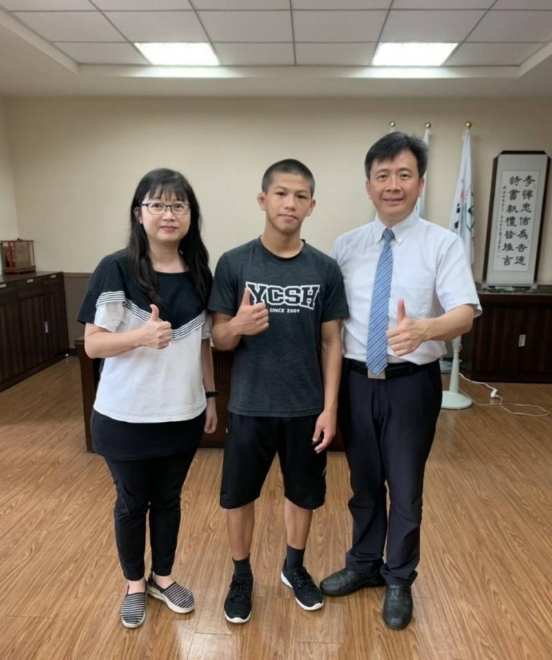 永慶首位總統教育獎!角力小將林玄斌 想拚奧運為國爭光