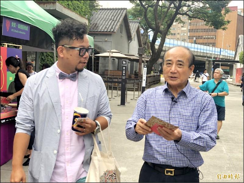 前立法院長王金平昨表示,國民黨做出許多不值得信任的決策,小心「台灣最大黨」變成「不信國民黨」。(記者陳昀攝)