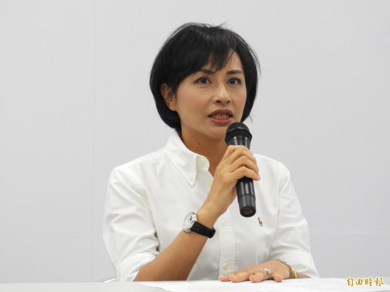 邱議瑩說,做立委沒什麼了不起,不做立委也沒什麼了不起,對她而言,對人權與自由的追求更為重要。(資料照)
