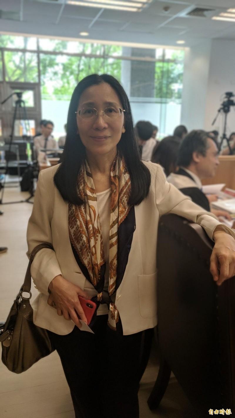 前大法官許玉秀呼籲政府成立並資助亞洲人權法院,成為亞洲先驅。(記者吳政峰攝)