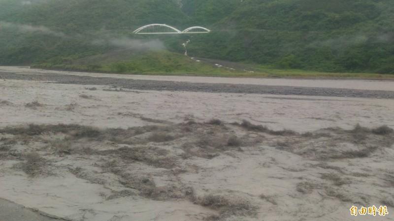 荖濃溪水暴漲 南橫台20線高雄勤和至復興路段預警性封閉