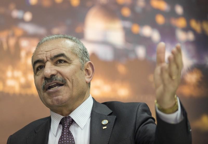 針對美國主導經濟研討會,巴勒斯坦總理阿什塔耶(Mohammad Shtayyeh)回應表示,美國並沒有與巴勒斯坦進行任何協商。(美聯社)