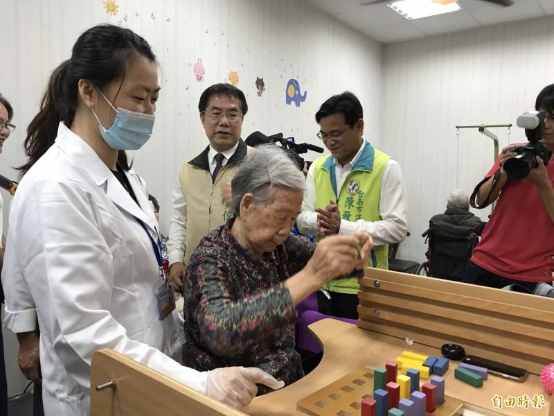台南大內首間日照中心揭牌 減輕家庭照顧壓力