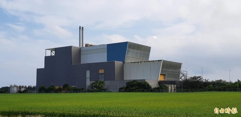 台東焚化廠爭議14年,環保局長謝清泉傾向啟用。(記者黃明堂攝)