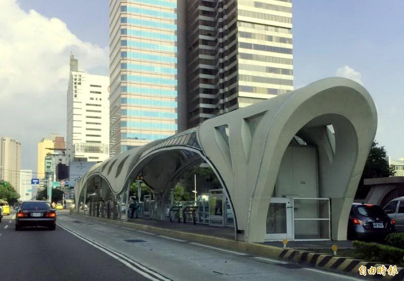 台中BRT仲裁案衍生900萬元利息。(記者張菁雅攝)