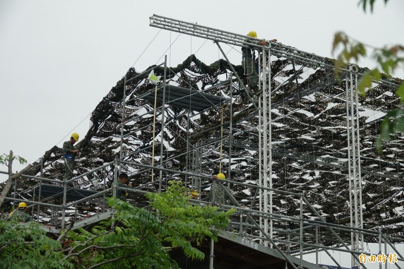 漢光演習28日彰化戰備道登場 東側平台引民眾好奇