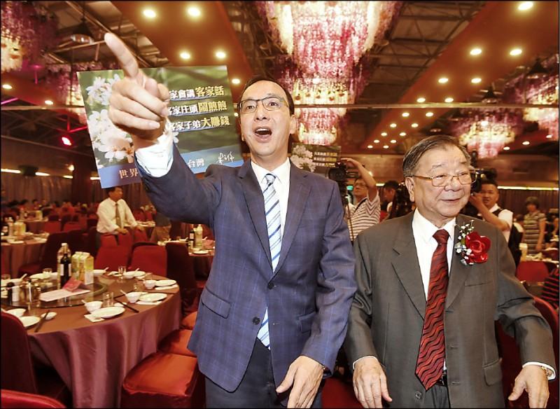 台北市長柯文哲的「白色力量」近期民調上揚,爭取國民黨提名的前新北市長朱立倫昨表示,不能輕忽,黨內應減少紛爭,比好不比爛。(資料照)