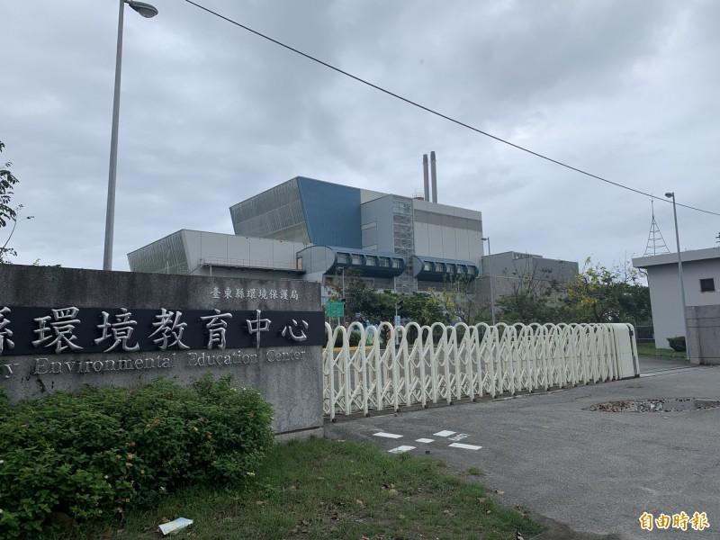 台東焚化廠面臨重啟選擇。(記者張存薇攝)