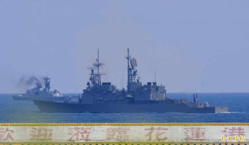 基隆級驅逐艦左營艦(DDG-1803)修理班,6分鐘著裝完成上火線。圖為基隆級蘇澳艦。(資料照)