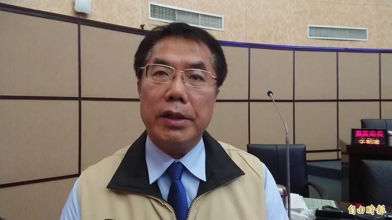 台南市長黃偉哲呼籲「蔡賴合」。(記者洪瑞琴攝)