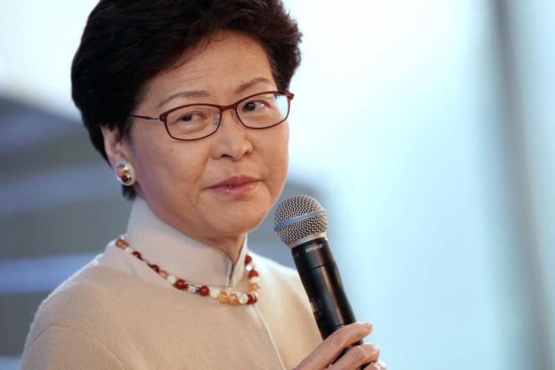 香港特首林鄭月娥幾天前強調,不會撤回《逃犯條例》修正案,歐盟今(24日)發出聲明,指出已向香港發出外交照會,對此案提出抗議。(彭博)