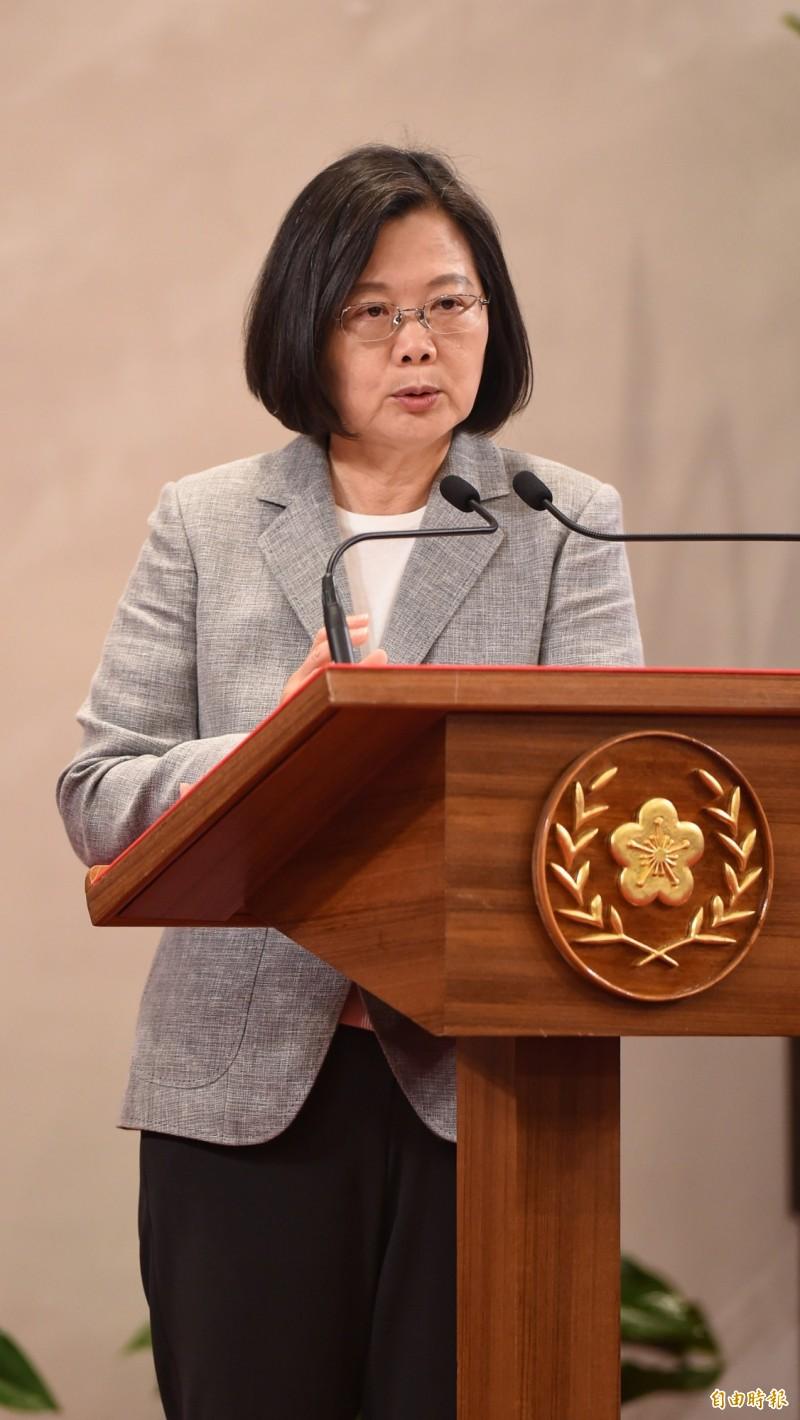 王浩宇指出,總統蔡英文現在的網路聲量高過賴清德13倍。(資料照,記者劉信德攝)