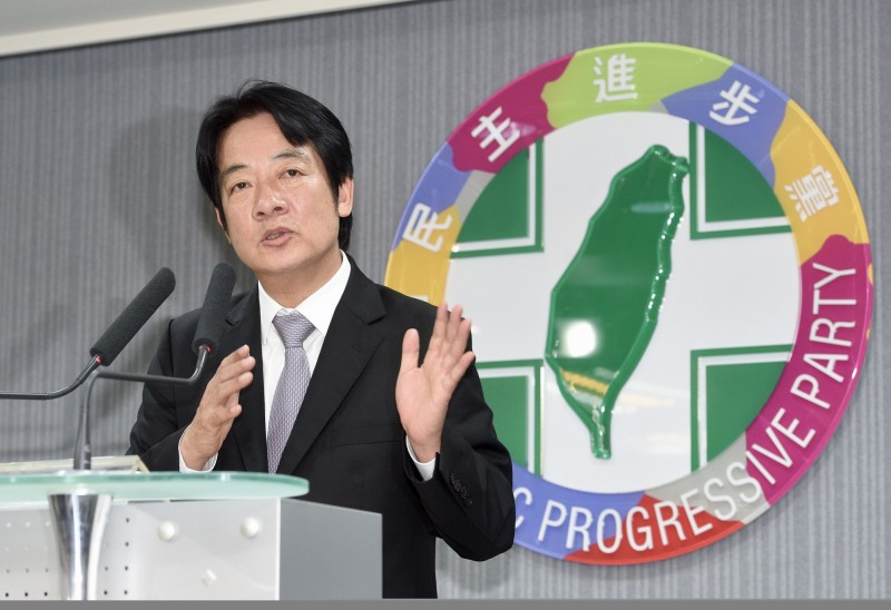 桃園市議員王浩宇指出,賴清德中執會那場談話之後,負面聲量首度超過正面評價。(資料照,記者羅沛德攝)