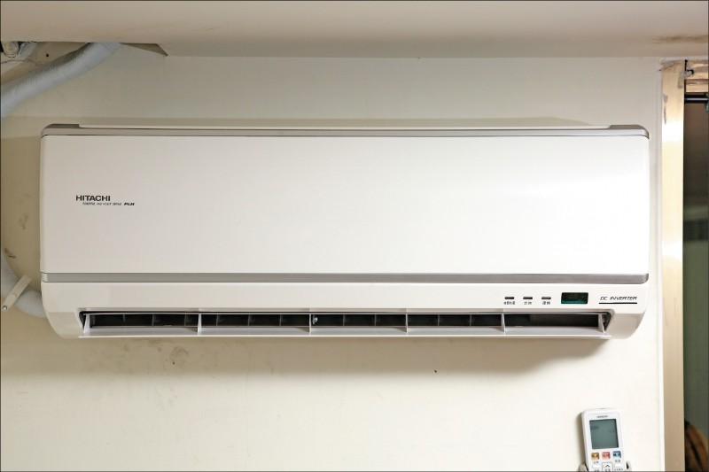 夏日耗電大魔王冷氣是不容小覷的吃電電器。(記者沈昱嘉/攝影)