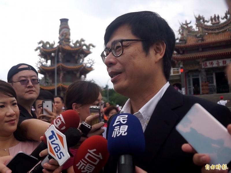 行政院副院長陳其邁。(資料照)