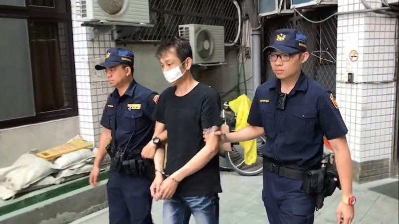 肇事的張姓駕駛被警方移送法辦。(記者曾健銘翻攝)