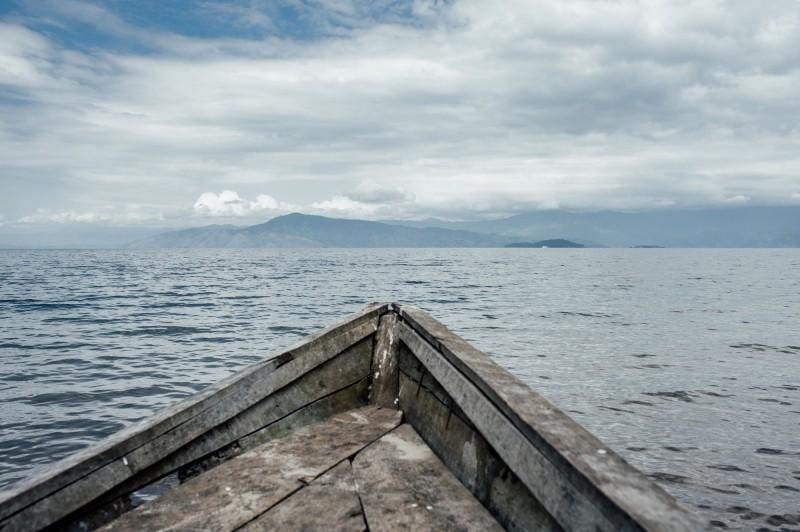 非洲剛果發生沉船意外,至少30死200人失蹤。示意圖。(法新社)