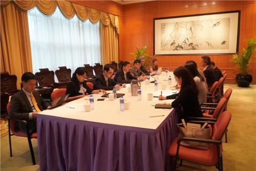 中國外交部駐香港特派員公署日前就港府修訂《逃犯條例》,為外國駐港媒體舉行閉門簡報會。(圖取自中國外交部駐港特派員公署網站)