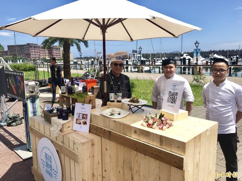 「基隆潮境海灣節」將舉辦潮美食-海風盛宴活動,使用基隆海鮮推出特色料理。(記者林欣漢攝)
