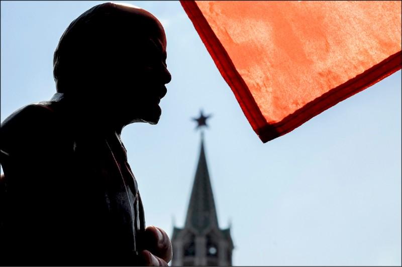 「列寧式政黨」顧名思義,正是源於蘇聯共產黨的最高領袖列寧在近一百年前所提出的主義而來。(法新社檔案照)