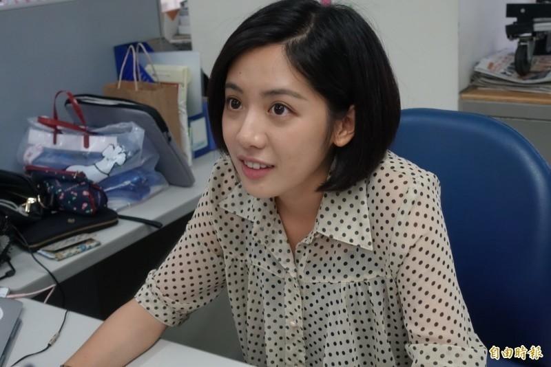 學姊黃瀞瑩宣布恢復單身。(資料照)