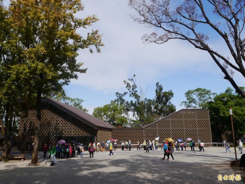 花博森林園區是明年台灣燈會預定場地之一。(記者張軒哲攝)