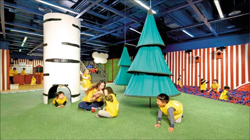 打造全新的親子友善空間,內部更規劃北歐風格兒童遊戲室,成為大台北地區親子遊玩的好地點。(IKEA新店店提供)