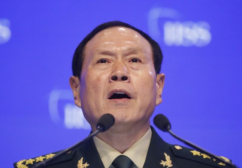 中國國防部長魏鳳和表示,如果有人試圖將台灣從中國分裂出去,那麼中國將不惜一切代價戰鬥到底。(歐新社)