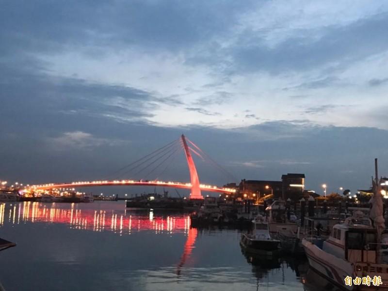 澎湖三所國小聯合畢旅,夜宿淡水傳出拍攝裸照風波。(記者劉禹慶攝)