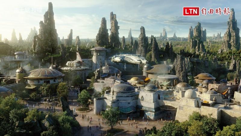 迪士尼星際大戰園區在美國時間5/31開幕。(迪士尼授權)