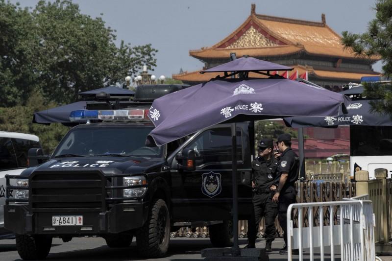 中國六四天安門屠殺事件今滿30週年。(法新社)
